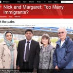 Participant's in BBC's Too Many Immigrants? programme