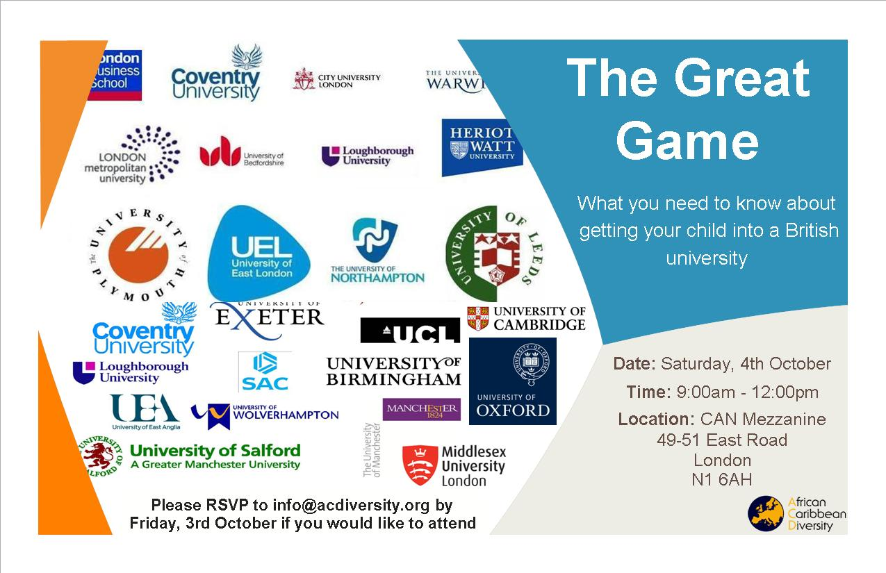 The Great Game - Invitation