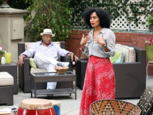 Scene from Black-ish Pilot  © ABC