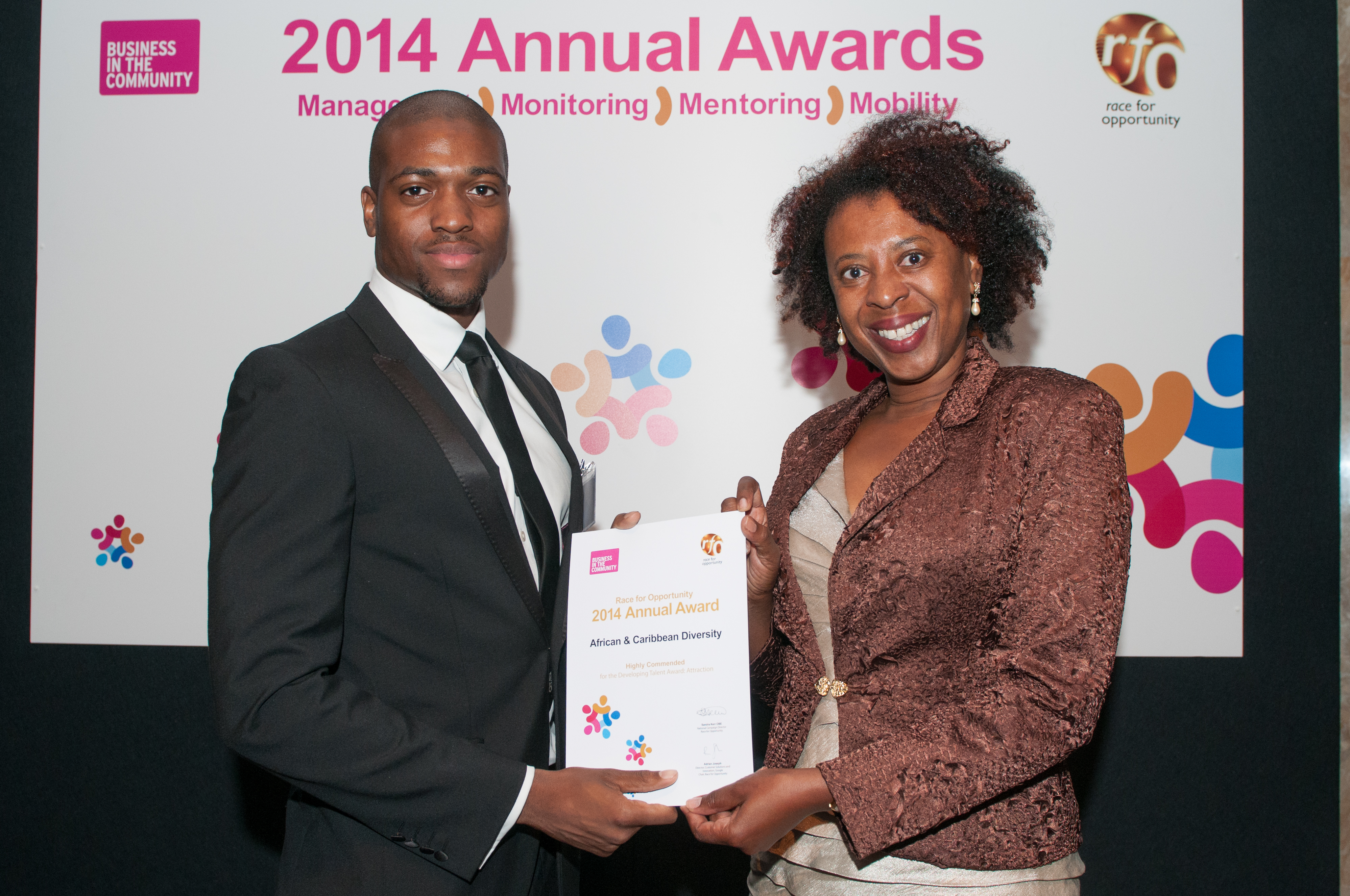 African & Caribbean Diversity Highly Commended At Race For Opportunity Awards