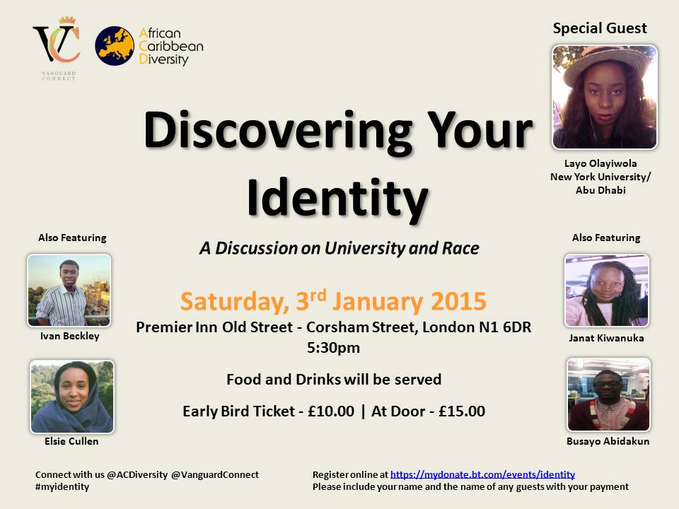 Discovering Your Identity – Full Speech Text